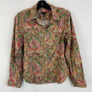 TALBOTS Boho Shirt